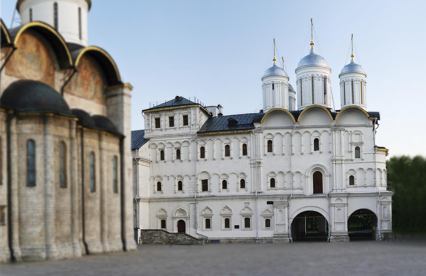 патриаршие палаты картинка 2