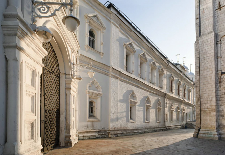 Southern facade of the Patriarch's Palace