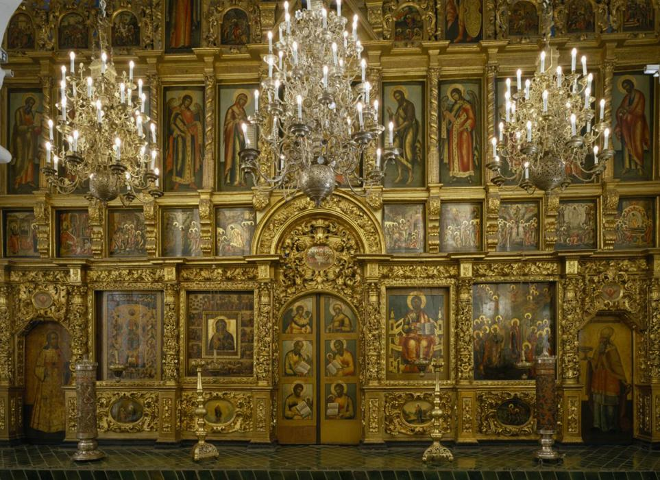 Iconostasis of the Twelve Apostles Church