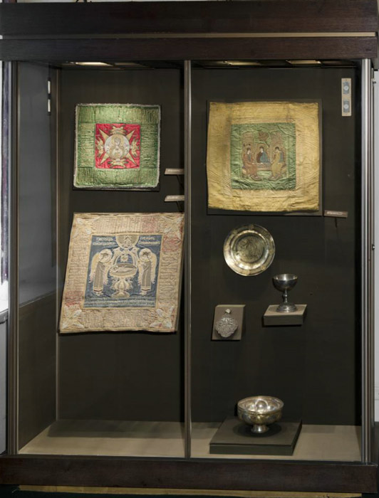 Showcase 13. Embroidery of the late 16th – early 17th century